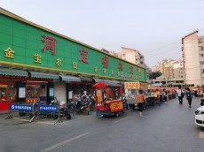 河定桥金王府农贸市场24平水果旺铺转让【可其他行业